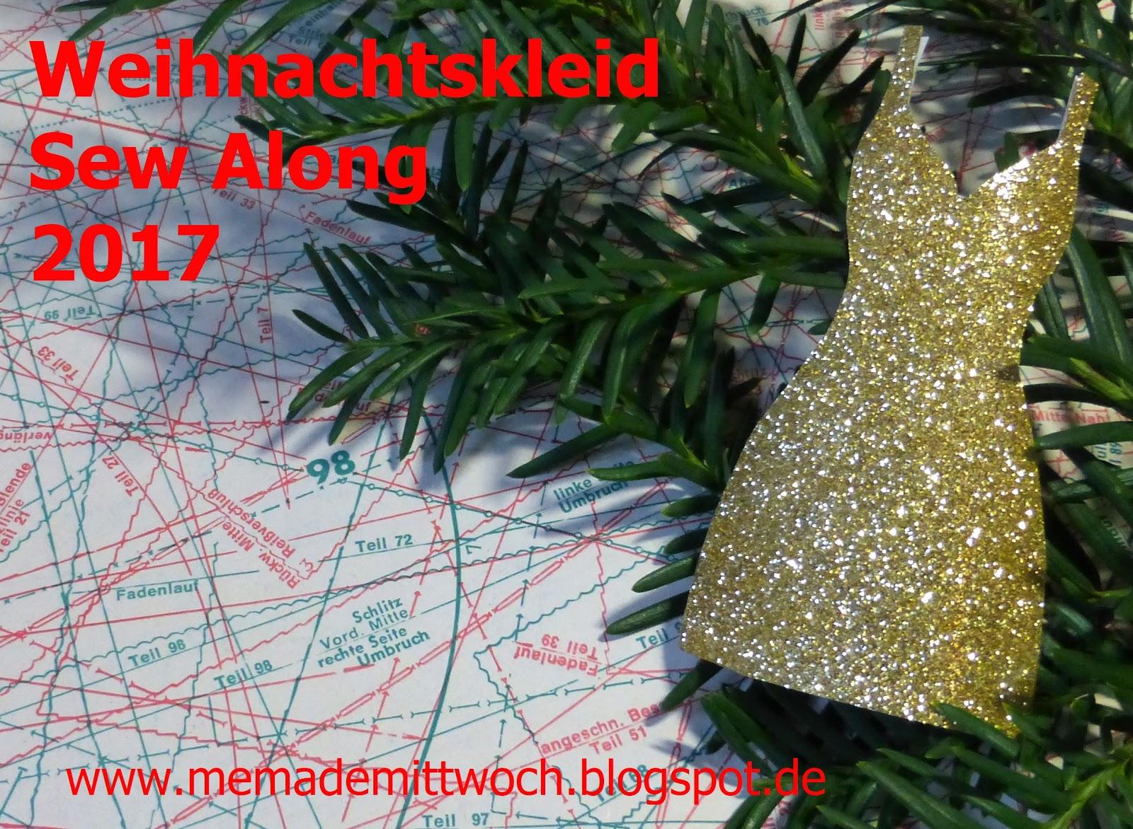 Weihnachtskleid Sew Along 2017